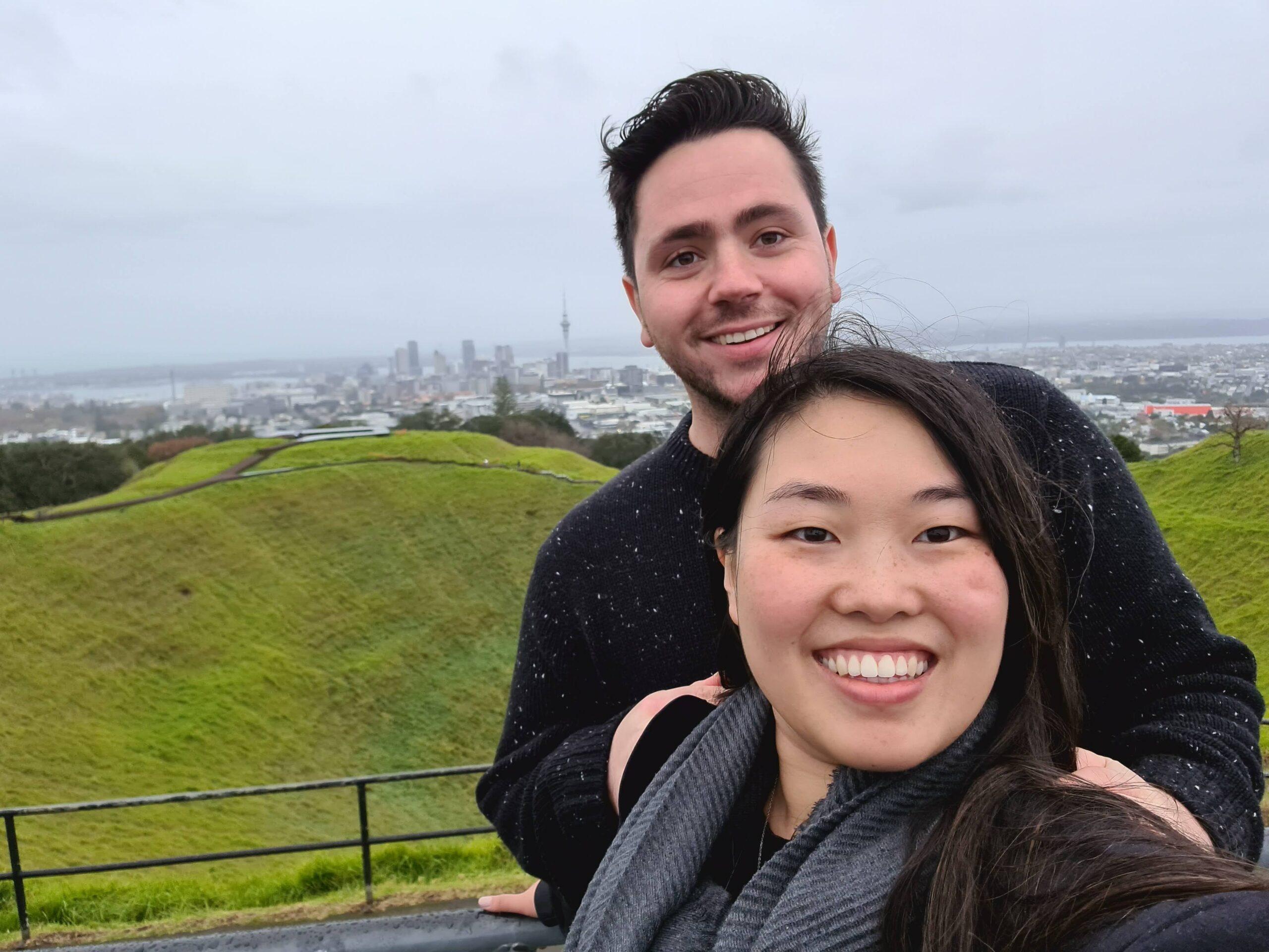 New zealand Auckland Honeymoon